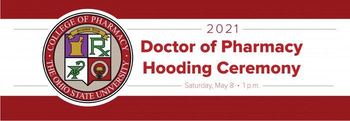 pharmd hooding ceremony banner