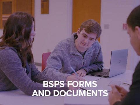 BSPS forms and documents button