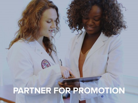 Partner for Promotion Button