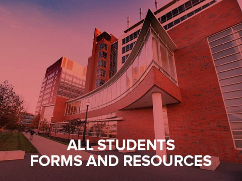 All students forms and resources button