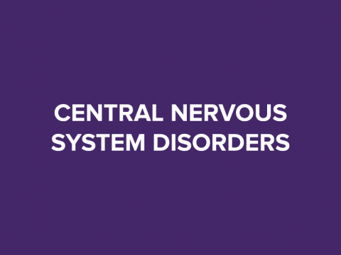 central nervous system disorders button
