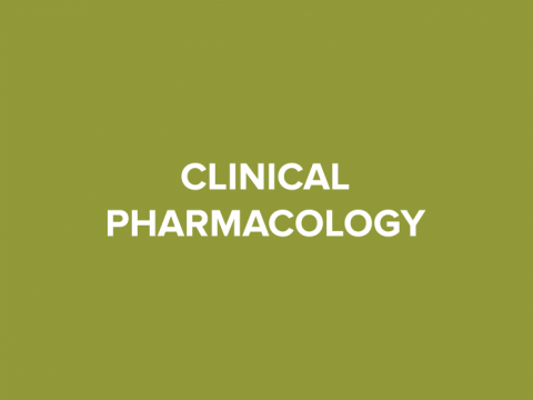 clinical pharmacology button