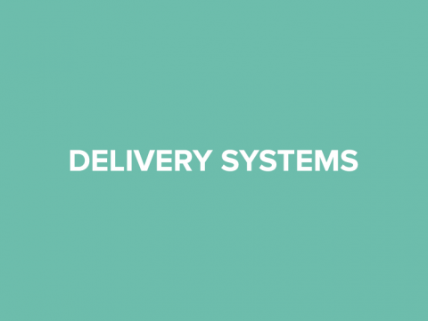 delivery systems button