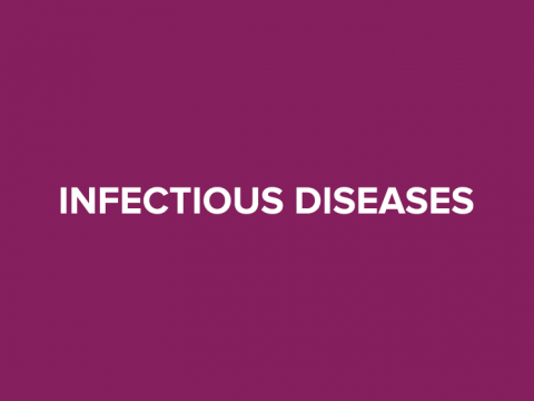 infectious disease button