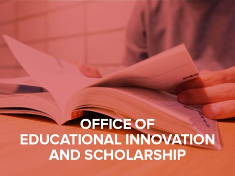 Office of Educational Innovation and Scholarship button
