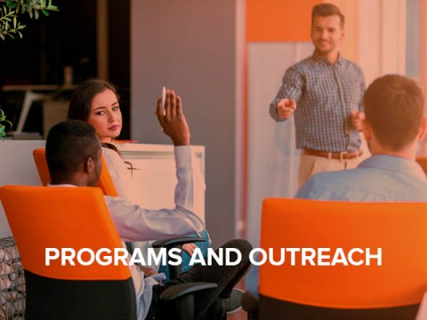 programs and outreach button