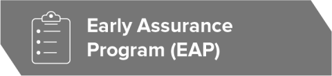 Early Assurance Program