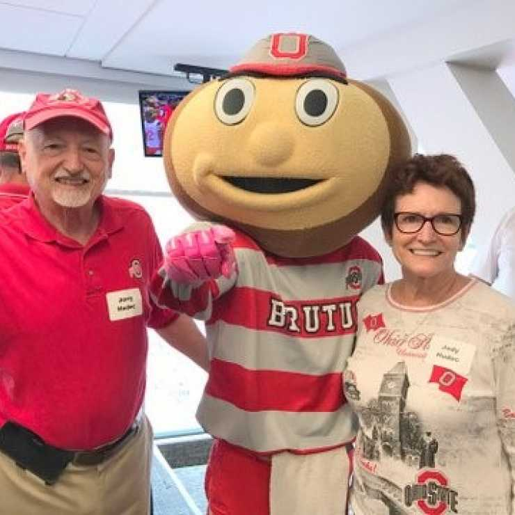 jerry and jody hudec with brutus image